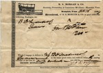 Receipt, 16 October 1837 by George Doggett and Benjamin D. Treadwell