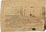 Subpoena, Marshall County, MS, 13 November 1837 by John Rook, Thomas Dunkin, and Abner Harvey