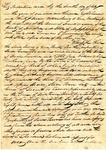 Indenture, Marshall County, MS, 7 July 1837 by James Kerr