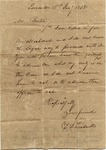 T.L. Treadwell to Roger Barton, Lamar, MS, 16 January 1838 by Timmons Louis Treadwell
