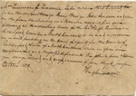 Legal Document, October 1838 by Hugh Quin