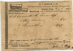 Receipt, 2 January 1838 by Gabriel May and John Holep