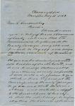 John C. Sarnes to William L. Treadwell, 15 February 1839 by John C. Sarnes