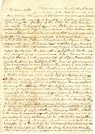 Benjamin Treadwell to Amelia Treadwell, 17 September 1839 by Benjamin D. Treadwell