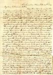 Benjamin Treadwell to Amelia Treadwell, 29 October 1839 by Benjamin D. Treadwell