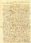 Benjamin Treadwell to Gilead D. Treadwell, 23 November 1840 by Benjamin D. Treadwell