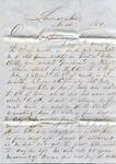 A.B. Treadwell to W.L. Treadwell, March 1850 by Arthur Barlow Treadwell