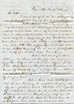 A.B. Treadwell to W.L. Treadwell, 14 December 1850 by Arthur Barlow Treadwell