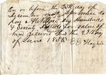 Promissory note, 29 June 1850 by Elizabeth Haney
