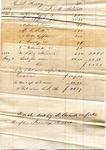 Receipt, 16 January 1850 by J. M. Patrick