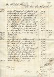 Receipt, 22 January 1850 by Ino Thompson