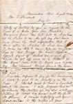 Jason W. Crawford to T.L. Treadwell, 18 August 1860 by Jason W. Crawford