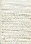[?] to Barlow, 11 October 1860 by Author Unknown
