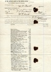Bankruptcy notice, 13 April 1868 by Arkansas and Timmons Louis Treadwell