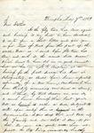 B. D. Treadwell to T. L. Treadwell, 7 May 1869 by Benjamin D. Treadwell