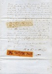 Indenture, Marshall County, MS, 19 January 1869 by Robert A. Treadwell