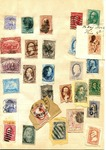 Stamp notebook, 1869 by Author Unknown