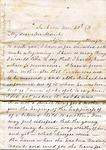 F. P. Long to W. L. Treadwell, 6 November 1871 by F. P. Long