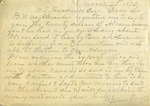 H. P. Maxwell to W. L. Treadwell, 18 March 1872 by H. P. Maxwell