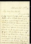 James Poole to W. L. Treadwell, 23 March 1872 by James Poole