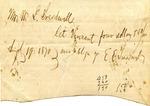 Julia Barber to Mrs. Ransom E. Aldrich, 28 November 1872 by Julia Barber