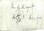 Harriet Landow to Mrs. R. E. Aldrich, 29 November 1872 by Harriet Landow