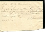 Julia Barber to Mrs. Aldrich, 23 December 1872 by Julia Barber