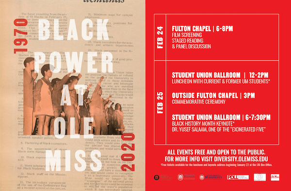 Black Power at Ole Miss: Remembrance, Reckoning and Repair at 50 Years
