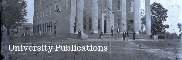 University of Mississippi Publications