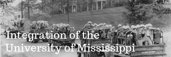 Integration of the University of Mississippi