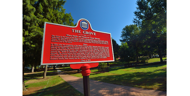 Ole Miss Plaque