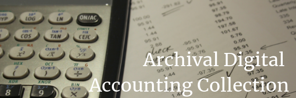 Archival Digital Accounting Collection