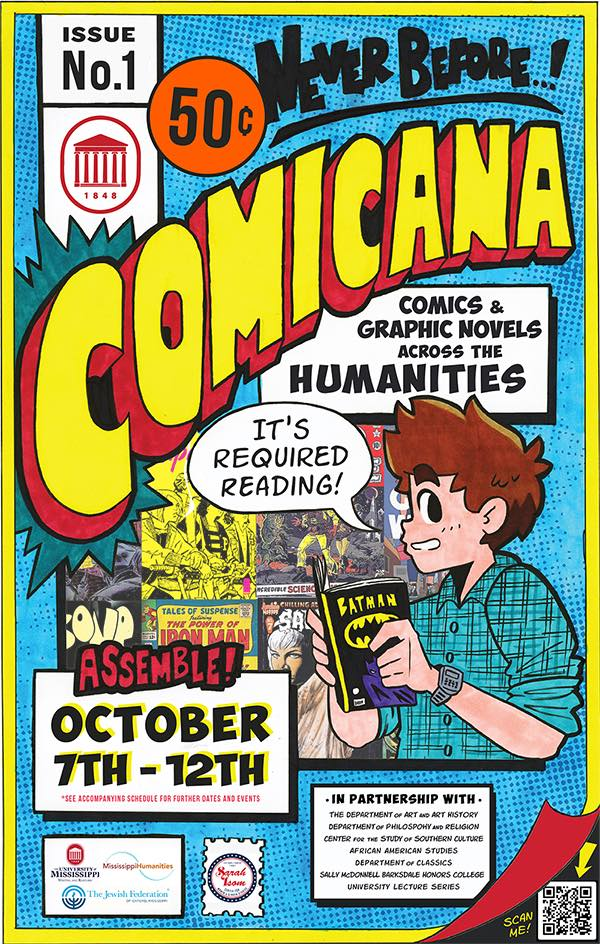 Comicana: Comics and Graphic Novels Across the Humanities