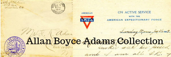 Allan Boyce Adams Collection