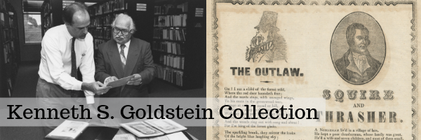 Kenneth S. Goldstein Collection