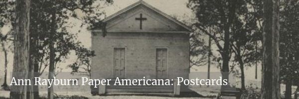 Ann Rayburn Paper Americana Collection Postcards