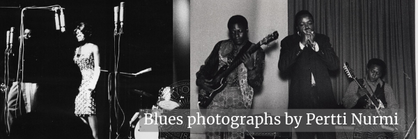 Blues Photographs by Pertti Nurmi