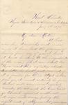 "Frederick Bernard to ""My dear Mother,"" 8 January 1870 by Frederick Robert Bernard (1850-1922)"