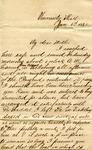 "Frederick Bernard to ""My dear Mother,"" 6 January 1871 by Frederick Robert Bernard (1850-1922)"
