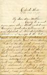 """Frederick Bernard to """"My dear dear Mother,"""" 18 February 1871 by Frederick Robert Bernard (1850-1922)"""