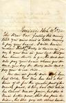 """Samuel Pennock Bernard to """"My dear son,"""" 11 March 1872 by Samuel Pennock Bernard"""