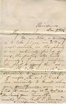 "Sarah G. Bernard to ""My dear son,"" 9 December 1872 by Sarah G. Bernard"