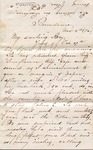 "Sarah G. Bernard to ""My darling boy,"" 2 November 1872 by Sarah G. Bernard"