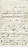 Unsigned letter, 19 January 1873 by Sarah G. Bernard
