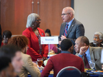 Linnie Willis and Noel Wilkin at Luncheon on February 25, 2020 by Linnie Liggins Willis and Noel Wilkin