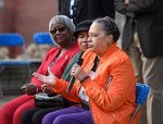 Henrieese Roberts speaking at Commemorative Ceremony, February 24, 2020 by Henrieese Roberts