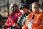 Linnie Willis, Marjorie Crawford, Henrieese Roberts at Commemorative Ceremony, February 24, 2020 by Linnie Liggins Willis, Marjorie Crawford, and Henrieese Roberts