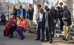 Commemorative Ceremony in front of Fulton Chapel, February 24, 2020