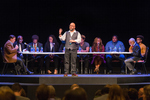 Twenty-Seven Demands: A Staged Reading, Peter Wood introduces the cast by Peter Wood