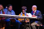Twenty-seven demands, a staged reading: UM students and John C. Brittain by Jaimee' Mitchell, Sebastian Davis, Noah Greenwood, and John C. Brittain